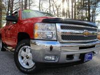 2013 Chevrolet Silverado 1500, Victory Red, One Owner,