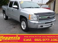 Clean CARFAX. This 2013 Chevrolet Silverado 1500 LT in