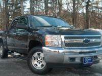 2013 Chevrolet Silverado 1500, Black, Accident Free
