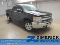 Options:  2013 Chevrolet Silverado 1500 4Wd Ext Cab