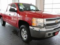 Options:  2013 Chevrolet Silverado 1500 Lt|Red|**Clean