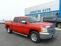 One Owner Trade from La Crosse, WI! This Crew Cab LT