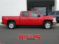 This 2013 Chevrolet Silverado 1500 has a V8, 5.3L; FFV