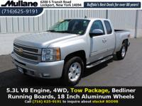 Clean CARFAX. Part-Time 4WD, Tow Package, Bed Liner,