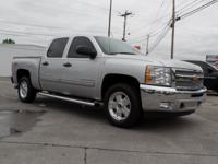 Exterior Color: silver ice metallic, Body: Crew Cab,