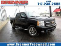 Look at this 2013 Chevrolet Silverado 1500 LTZ. Its