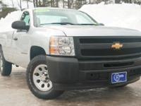 2013 Chevrolet Silverado 1500, Silver, One Owner,