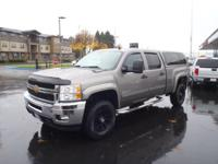 This GRAY 2013 Chevrolet Silverado 2500HD LT might be