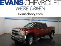 LT Package!! Crew Cab!! Four Wheel Drive!! 6.0L V-8!!