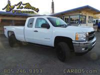 Options:  2013 Chevrolet Silverado 2500 Lt White 58 529