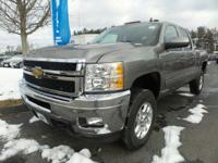 2013 Chevrolet Silverado 2500HD LTZ Odometer is 45558