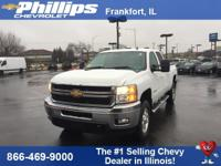 Certified. Summit White 2013 Chevrolet Silverado 2500HD