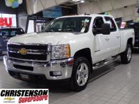 2013 Chevrolet Silverado 2500HD LTZ in Summit White for