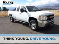 CARFAX One-Owner. White 2013 Chevrolet Silverado 2500HD