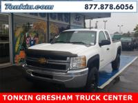 2013 Chevrolet Silverado 2500HD Work Truck Summit White