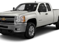 Options:  2013 Chevrolet Silverado 2500Hd Wt|Miles: