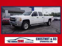 2013 Chevrolet Silverado 3500HD LT in Summit White with