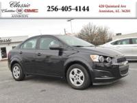 Options:  2013 Chevrolet Sonic Ls|Black/|V4 1.8L