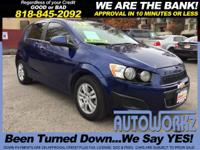 Options:  2013 Chevrolet Sonic Join Our Family Of