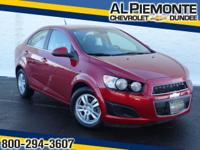 This 2013 ALMOST NEW Chevrolet Sonic has a great