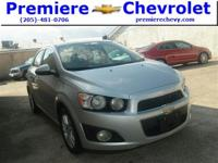 Options:  2013 Chevrolet Sonic Lt|Silver/|V4 1.8L