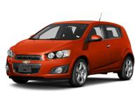 Look at this 2013 Chevrolet Sonic LT. Its Manual