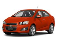 Sonic LT, 4D Sedan, ECOTEC 1.8L I4 DOHC VVT, 5-Speed