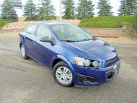 Our One Owner 2013 Chevrolet Sonic LT announces its