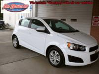 2013 Chevy Sonic LT Pre-Owned. When I open up the doors
