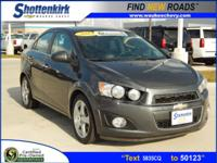 Options:  2013 Chevrolet Sonic Ltz Auto|Ltz Auto 4Dr