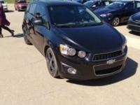 2013 Chevrolet Sonic LTZ New Price! Odometer is 3733