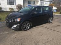 Options:  2013 Chevrolet Sonic Rs Auto 4Dr