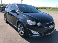 Black Granite Metallic 2013 Chevrolet Sonic RS FWD