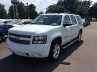 White 2013 Chevrolet Suburban 1500 LTZ 4WD 6-Speed