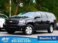 2013 Chevrolet Suburban 1500 in Black. Leather. Save