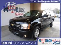 Black 2013 Chevrolet Suburban 1500 LT 4WD 6-Speed