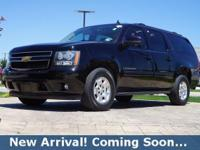 2013 Chevrolet Suburban 1500 LT in Black, 4WD, This