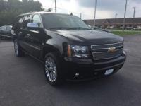 2013 Suburban 1500 LTZ 4WD Local Trade, Non-Smoker,