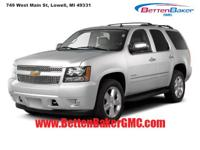 Options:  2013 Chevrolet Tahoe 4Wd 4Dr 1500 Lt|4-Wheel