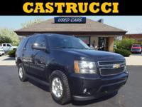 New Price!  Clean CARFAX.  Black 2013 Chevrolet Tahoe