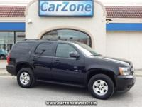 2013 CHEVROLET TAHOE LT - 4 Wheel Drive - Black with