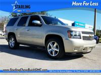 New Price! This 2013 Chevrolet Tahoe LTZ in Tan