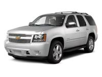 Certified Vehicle! LOW MILES, This 2013 Chevrolet Tahoe