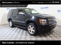 2013 Chevrolet Tahoe LTZ 4X4 in Black vehicle