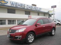 AWD TRAVERSE LT 8 PASSENGER REMAINING WARRANTY FULL