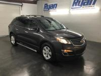 Clean CARFAX. Tungsten Metallic 2013 Chevrolet Traverse