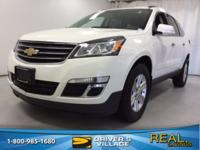 White 2013 Chevrolet Traverse 2LT 2LT FWD 6-Speed