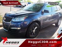 Gray 2013 Chevrolet Traverse LS FWD 6-Speed Automatic