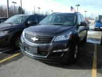 This one owner, 2013 Chevy Traverse has 17-inch steel