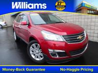 Options:  2013 Chevrolet Traverse Lt|Red|Touch Screen